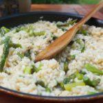 risotto ze szparagmi