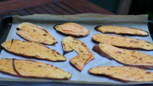 Tosty batata z jajkiem i awokado