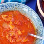 Pomidorowy kapuśniak z kimchi
